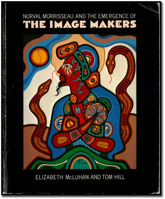 "Saul Williams's ""Homage to Morrisseau"" is featured on the cover of the exhibition catalogue ""Norval Morrisseau and the Emergence of the Image Makers,"" Art Gallery of Ontario, 1984. #ArtCanInstitute"