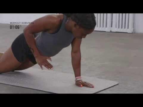 Shelly-Ann Fraser-Pryce's 15-min Intense Interval Workout - YouTube