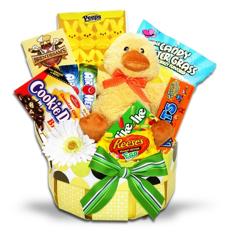 180 best gift baskets images on pinterest gift baskets basket spring fling easter gift basket 4995 negle Image collections