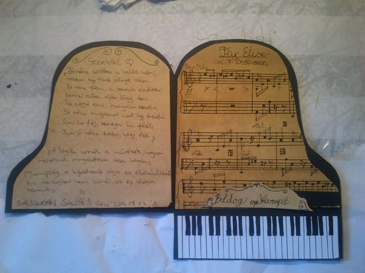 Piano card 2