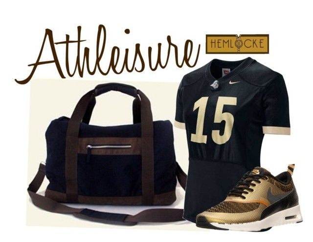 """Athleisure 2016"" by hemlocke on Polyvore featuring NIKE"