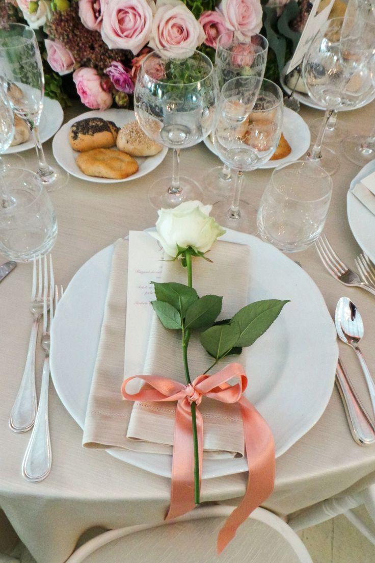 Allestimento tavola per matrimoni. Preludio Noleggio, attrezzature per catering eventi.  Wedding table setting for your wedding in Italy.