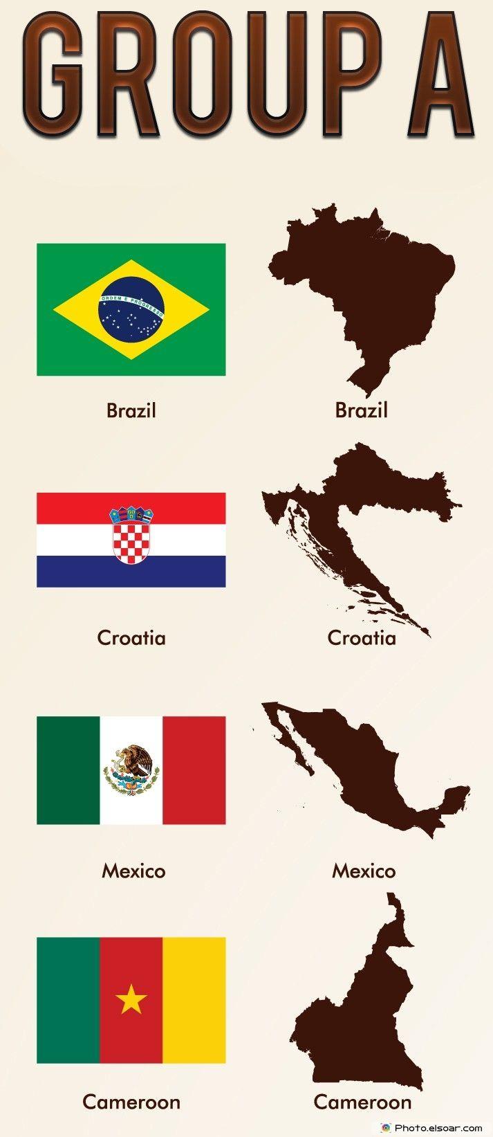 Best Soccer World Cup Images On Pinterest - Maps soccer