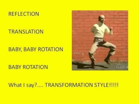 OMG! This is hilarious, but it REALLY teaches kids about rotations! The little bird at the beginning cracks me up!