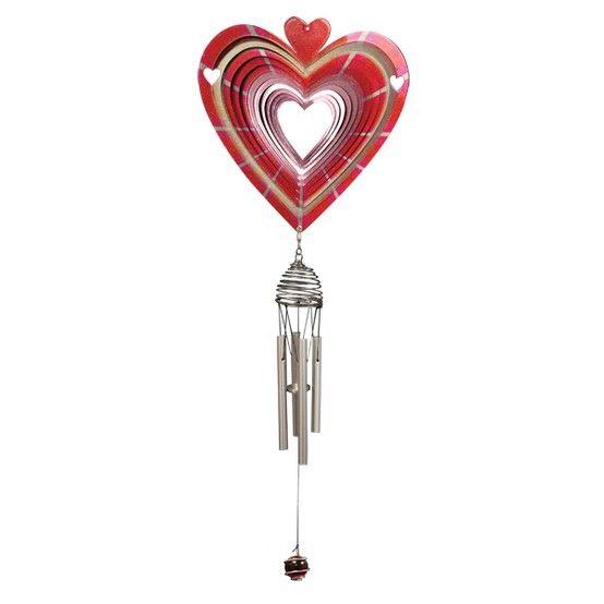 Een windorgel met een hart voor klanken, dat is deze windspinner. De klanken van het windorgel en de fascinerende lichtwerking van de windspinner zullen een ieder verbazen. Bestel uw windspinners bij de webwinkel met het grootste assortiment.