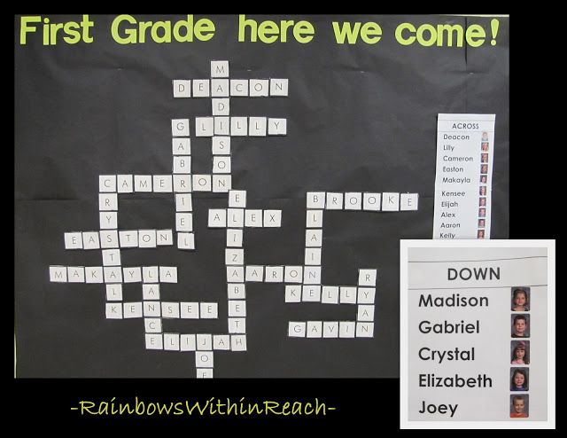 Get kids excited about moving up a grade level! Good for a May bulletin board.