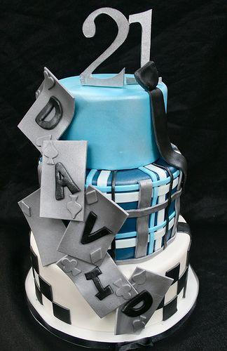 David Henries 21st Birthday Cake
