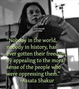On May 3, 2013, former Black Panther and Black Liberation Party member, Assata Shakur became the first woman in history to make to the FBI's Most Wanted List.