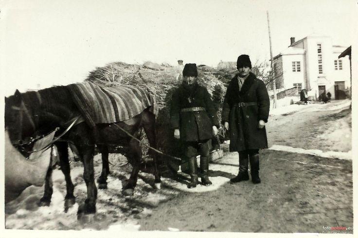 ul. Krakowska, Kazimierz Dolny - 1940 rok, stare zdjęcia