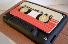 Guardians of the Galaxy mix tape cake