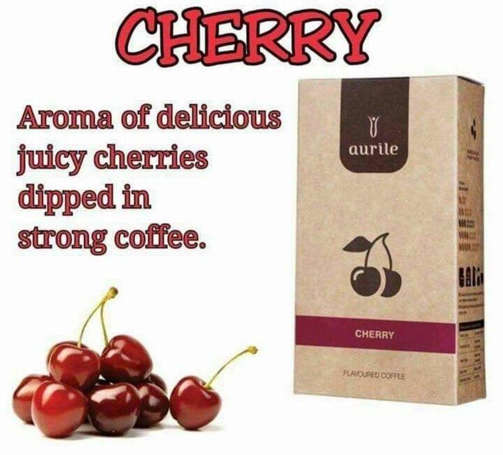 Coffee cherries cherry flavor coffee flavor strong