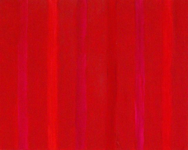 Françoise Sullivan, series: Aedh, No.17, 2012, oil on canvas, 16x20in  © Courtesy Corkin Gallery