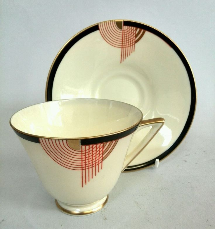 Royal Doulton, Tango, Tea Cup and Saucer. Art Deco. Perfect Condition. in Pottery, Porcelain & Glass, Porcelain/ China, Royal Doulton   eBay