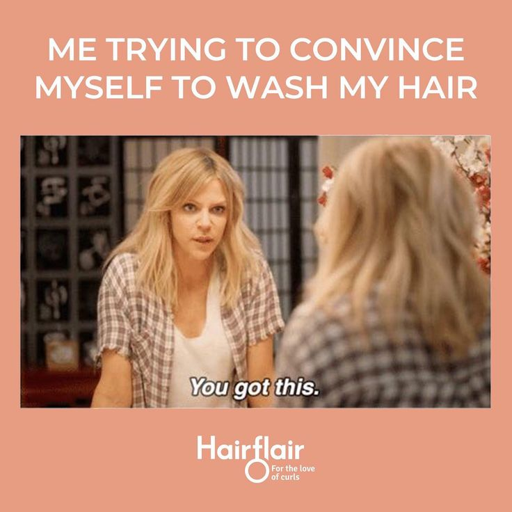 Everyone Has That Day In The Week Where You Consider The Thought Could It Go With A Miss Or Some Dry Shampoo W Hair Meme Funny Relatable Memes Washing Hair