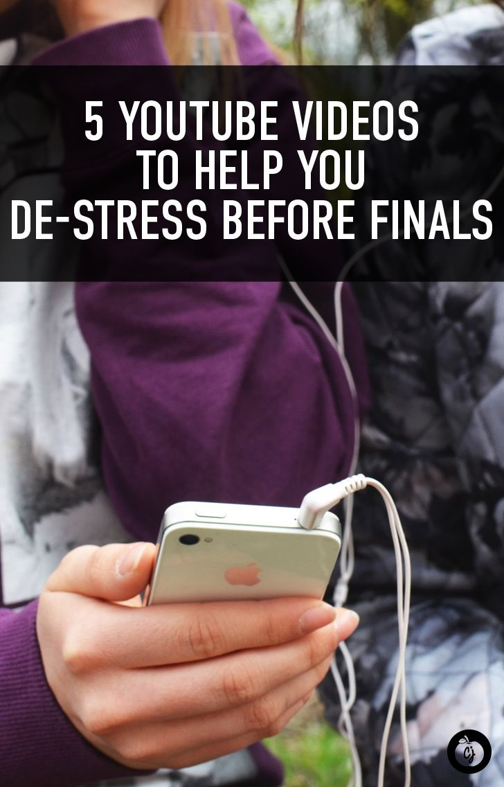 5 YouTube Videos to Help You De-Stress Before Finals