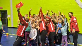Les olympiens d'Équipe Canada qui ont pris part aux Jeux olympiques de Rio l'été dernier se sont réunis à Ottawa...