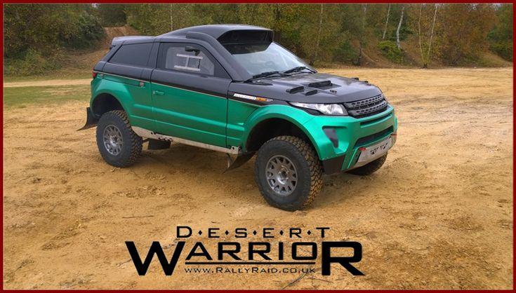 Dakar race car Desert Warrior 3