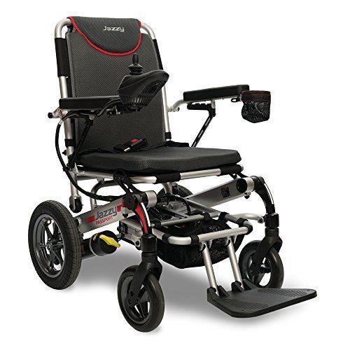 Pride Mobility Jazzy Passport Folding Travel Electric Powerchair