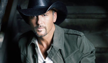 Love Tim McGraw's music and his love for his family...