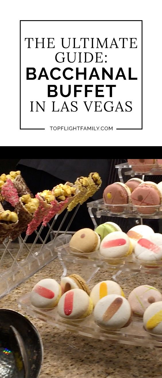 Want to try the ultimate Las Vegas buffet? Then check out the Bacchanal Buffet Las Vegas at Caesar's Palace. Here's the ultimate guide to this epic buffet.