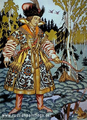 bilibin_ivan_ivan_the_tsar_s_son_and_the_frog_illustration_to_the_fairy_tale_the_frog_princess_1930
