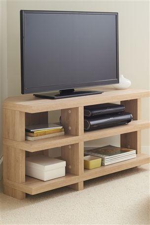 Roma Oak Corner Capitalise TV Unit from Next