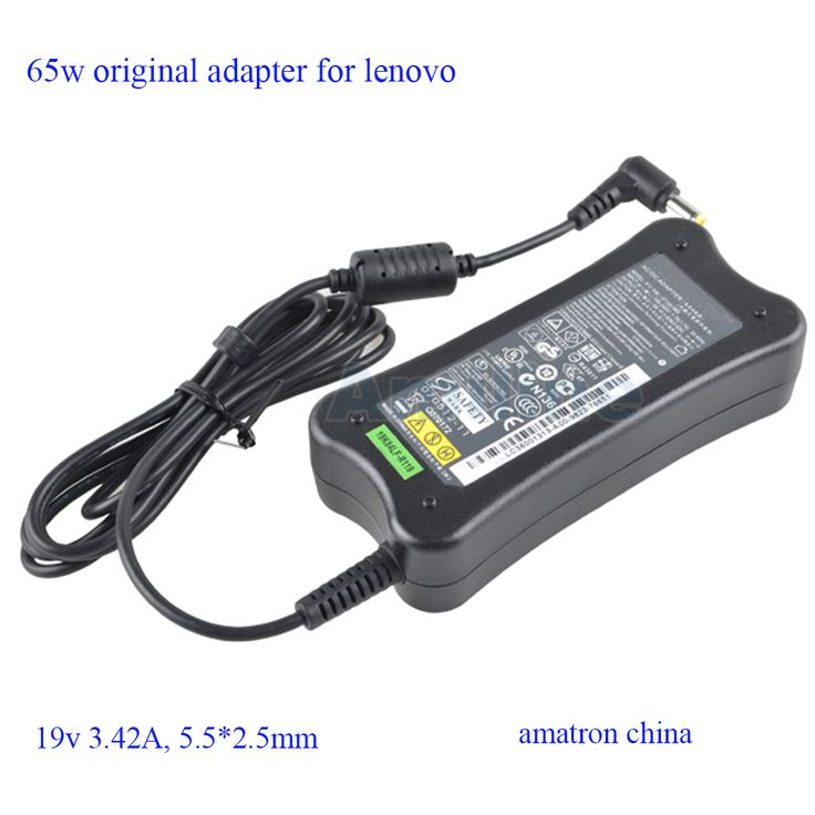 Genuine 19V 3.42A 65W AC Adapter for Lenovo G450 G550 N500 PA-1650-52LC ADP-65DB 36001678 0A37793 54Y8848 Laptops Power Supply #shoes, #jewelry, #women, #men, #hats