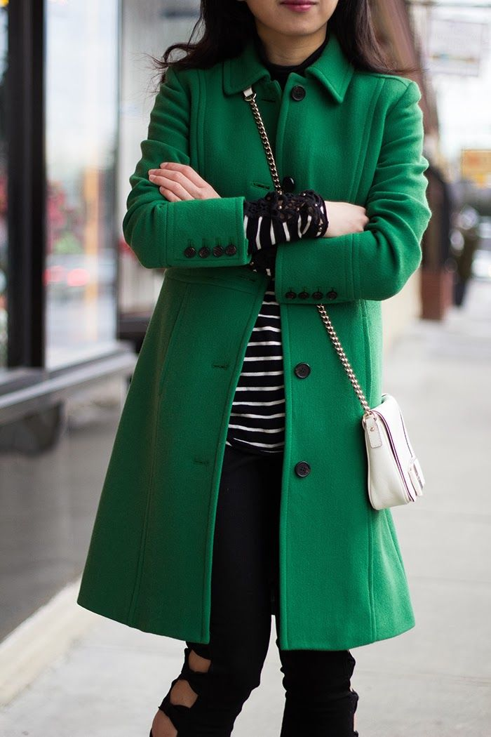 17 Best ideas about Green Coat on Pinterest | Green winter coat ...