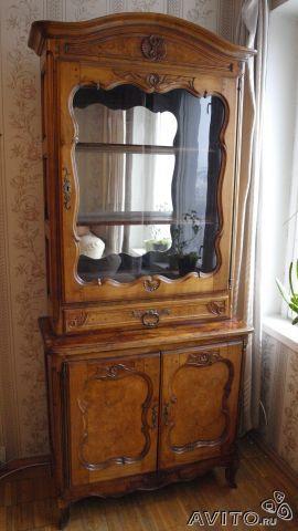 Шкаф для посуды антикварный (трофейный)