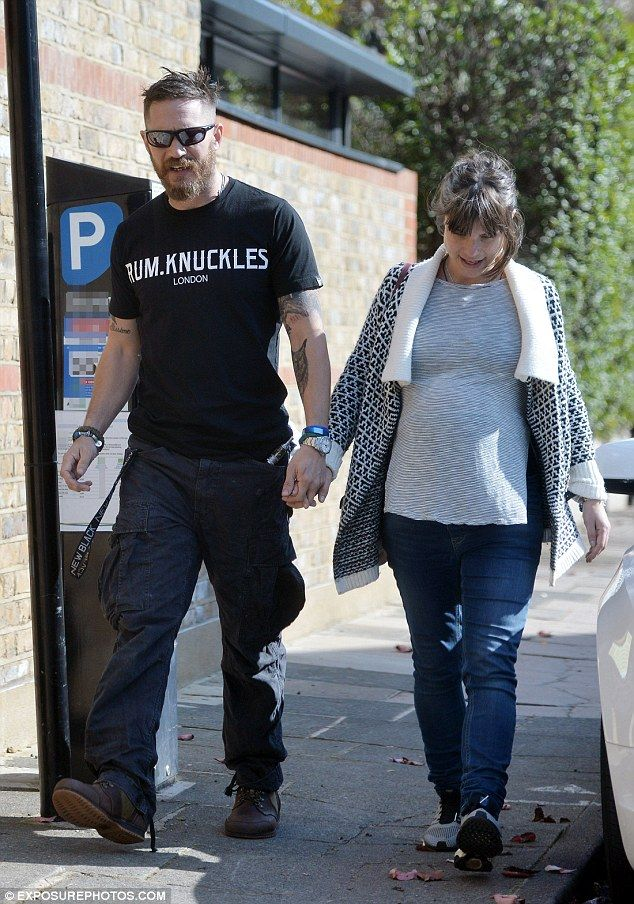Tom Hardy and Charlotte Riley - Oct. 2015