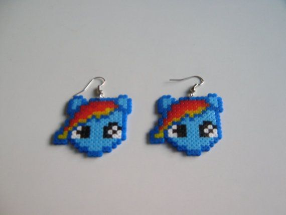 Pendientes de mi Little Pony Rainbow Dash
