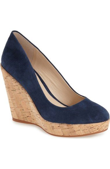 Vince Camuto 'Faran' Cork Wedge (Women) available at #Nordstrom
