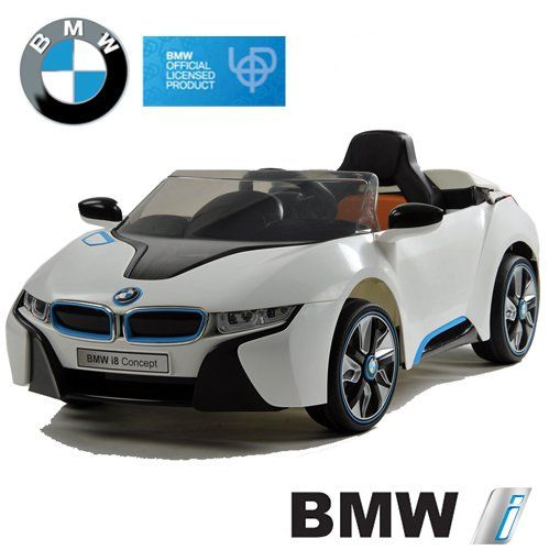 Kinderauto BMW i8 Concept Stromer Cabriolet Ride-On 12V