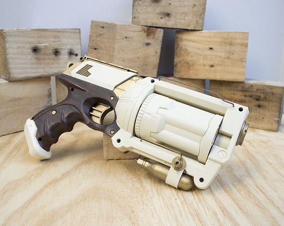 Imperial Guard Steampunk Gun - Nerf Mod
