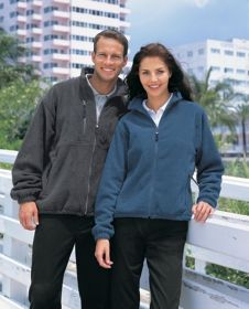 Promotional Products Ideas That Work: Men's fleece jacket. Get yours at www.luscangroup.com