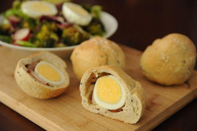 Jajka w cieście