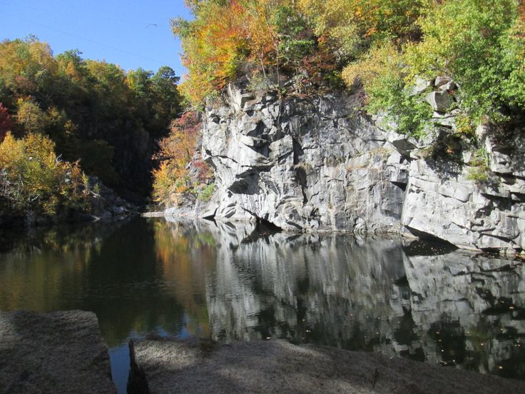 Another shot of the stone quarry, Becket, Ma.