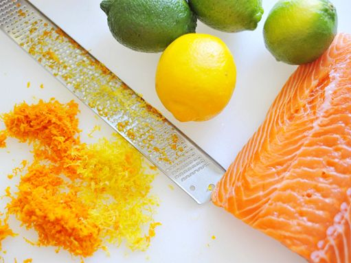 citrus cured salmon- our traditional New Year's meal