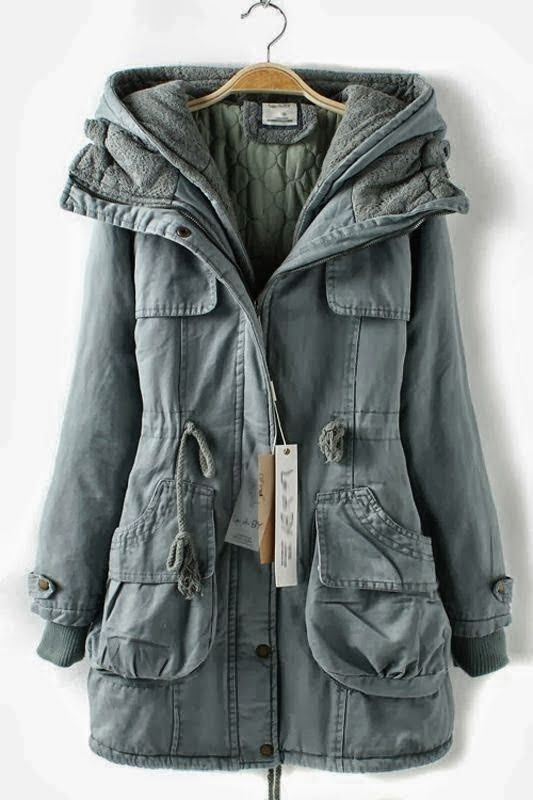 Love the thickness of this anorak jacket.
