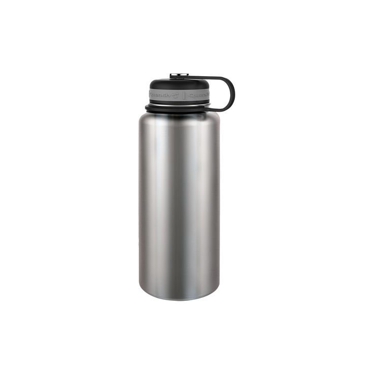 Quench 32oz Stainless Steel Vacuum Insulated Water Bottle - Silver