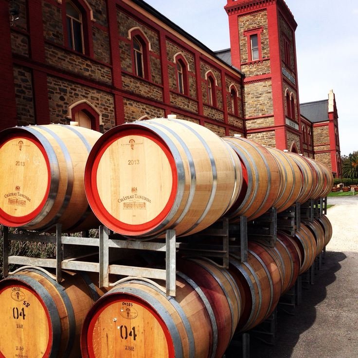 Chateau Tanunda in The Barossa Valley