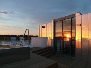 #AroundTheWorldIn80Baths - relax at the easternmost point in the Swedish mainland, Cape East Hotel http://www.capeeast.se/en.aspx
