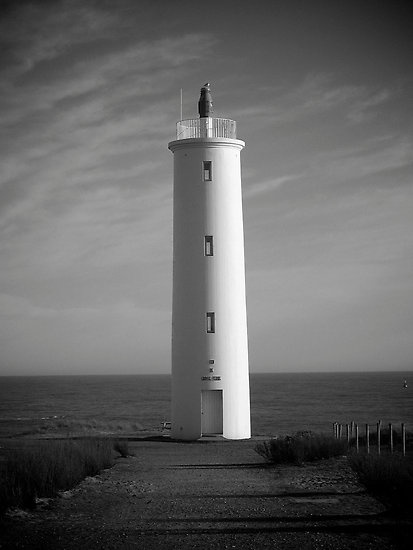 Lighthouse in Saint-Hilaire-de-Riez, Vendee, France. The region where I am from, a very beautiful sea side.