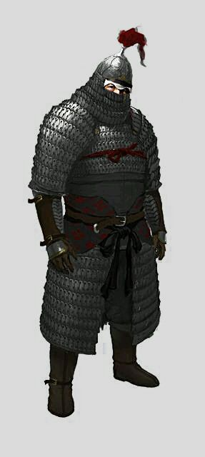 """Extremely heavy lamellar armor of a Jin Dynasty (1115–1234) """"Iron Pagoda horseman"""" Some historians have referred to these heavy cavalry as cataphracts or clibanarii, in reference to their near identical appearance to heavy Persian cavalry from the 4-7th centuries.  http://dragonsarmory.blogspot.com/2017/02/medieval-chinese-cataphracts-1-iron.html"""