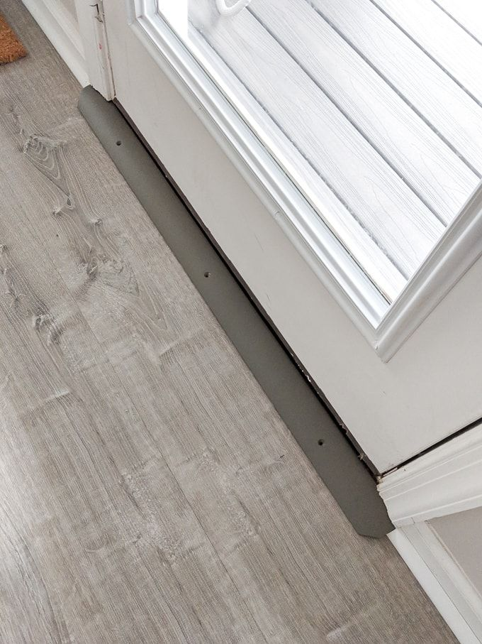 Door Threshold For Vinyl Flooring On A Concrete Subfloor Vinyl Flooring Flooring Vinyl Plank Flooring
