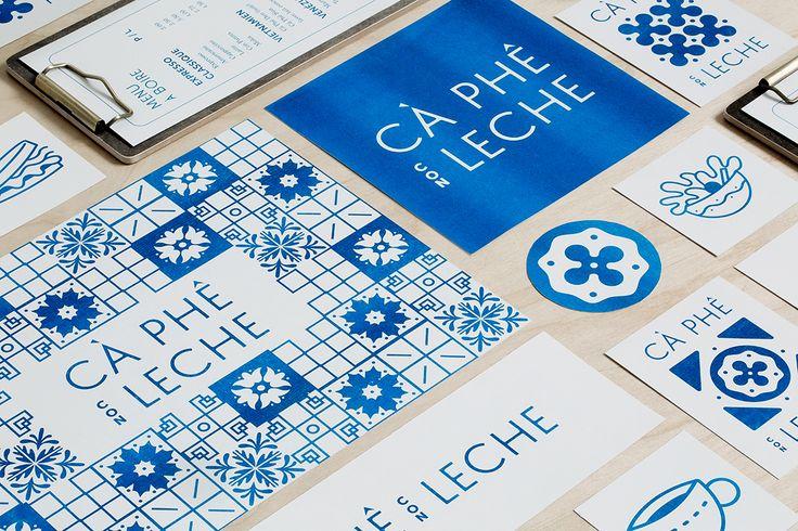 Cà Phê Con Leche - Brand identity on Behance