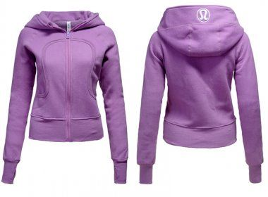 Canada Lululemon Yoga Scuba Hoodie Light Purple $52.09