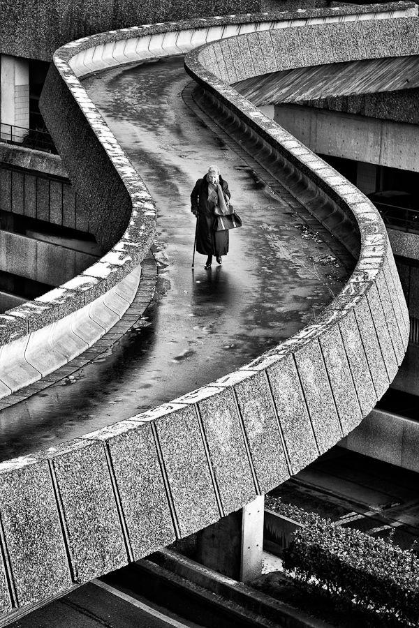 The Lady of The Defense, La Défense, Paris, France (Parisian Financial District)