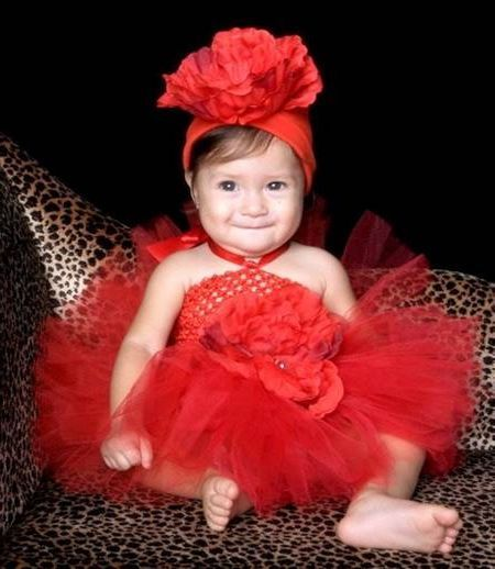 Cool Baby red dress 2018-2019