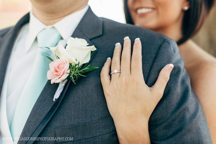 Bride and Groom // Wedding Photography // Campbell University // Butler Chapel // Megan Jones Photography